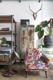 floral inspiration in a cool industrial style gravity home