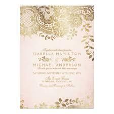 vintage lace wedding invitations lace wedding invitations announcements zazzle