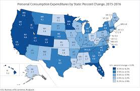 average rent per state bea news release personal consumption expenditures by state 2016