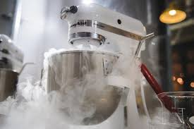 liquid nitrogen powered ice cream parlour science cream reopens in