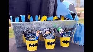 cool batman birthday party decorations ideas youtube