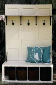 tree hall bench woodworking plans storage plan
