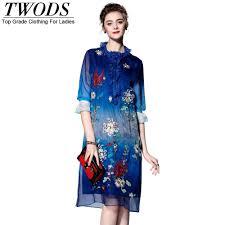 aliexpress com buy twods m l xl xxl embroidery ladies dress