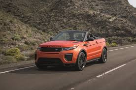orange range rover evoque 5 things to know about the 2017 range rover evoque convertible