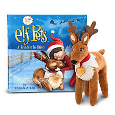 on the shelf reindeer on the shelf pet pack reindeer and bernard pets