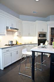 White Kitchen Cabinets With Tile Floor Black And White Floor Tile Kitchen With Inspiration Hd Photos 9234