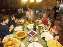 thanksgiving dinner blessing prayer thanksgiving past traditions present my sweet homeschool