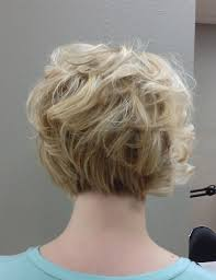 short hair cuts seen from the back short haircuts for older women curly bob haircuts back view women