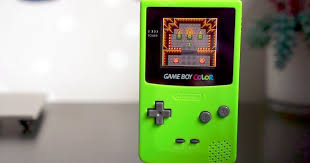 Game Boy Color Mod Fixes A Glaring Issue Gameboy Color