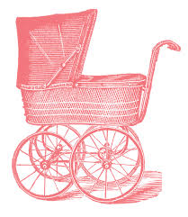 baby carriage vintage image graphicsfairypk1 the graphics fairy