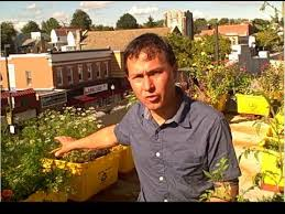 how to grow an urban rooftop container vegetable garden youtube