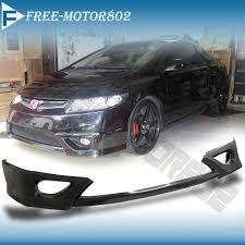 2007 honda civic si coupe kits for 06 08 honda civic 2door hfp front bumper lip spoiler bodykit