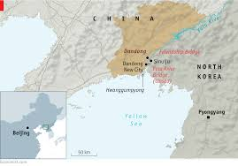 Map Of World Korea by Politics And Pity On The Border Of China And North Korea