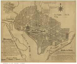 Map Of Washington Dc by Washington D C Maps Old Maps Blog
