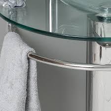 Modern Glass Bathroom Vanities by Fresca Attrazione Modern Glass Bathroom Vanity W Frosted Edge