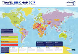 map trip don t plan your trip before you check out this travel risk map