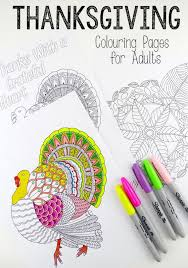 leaf mandala u0026 giving turkey colouring pages grown ups