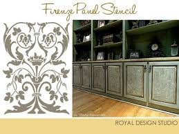 kitchen stencils designs stencil project ideas for stenciling kitchen cabinets and doors