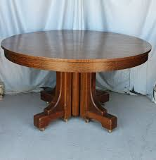 Mission Style Dining Room Table by Bargain John U0027s Antiques Blog Archive Mission Style Round Oak