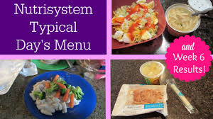 nutrisystem eating out guide nutrisystem typical day u0027s menu u0026 week 6 results video 5 youtube