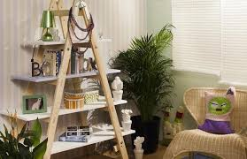 Home Decor Shelf Ideas Diy Ladder Shelf Ideas Easy Ways To Reuse An Old Ladder At Home