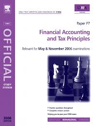 financial accounting and tax principles international financial