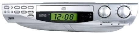 under cabinet stereo cd player jwin jl k733 kitchen under cabinet cd player am fm stereo dual