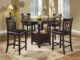 high top kitchen table set beautiful round high top table sets with storage and chairs jpg