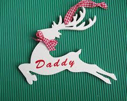 Rustic Reindeer Christmas Decorations by Reindeer Decoration Etsy