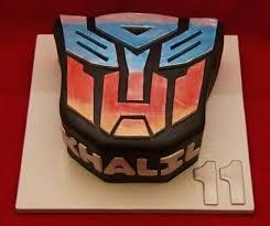 transformers cakes cake designs
