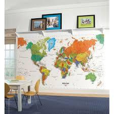 28 wall map mural classic world map mural maps pinterest world map wall mural countries wallpaper accent decor