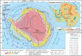 World Continents And Oceans Map by Antarctica Climate Subglacial Relief The Geography Of