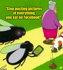 Create Facebook Meme - posting food pics doesn t create the buzz you think it does