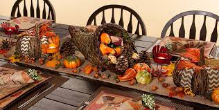thanksgiving table decorations thanksgiving table decor party city