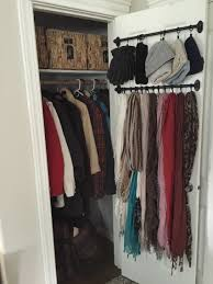 Closet Organization Ideas Pinterest by Small Coat Closet Organizing Outerwear In A Compact Space No