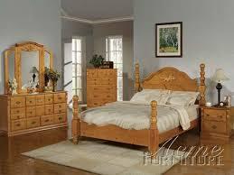 Oak Bed Set Oak Bedroom Furniture Sets Foter