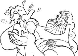 zeus pegasus coloring pages wecoloringpage