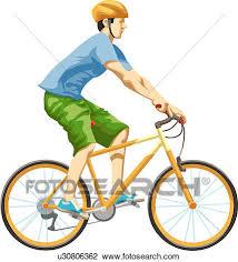 clipart uomo clip uomo su bicicletta u30806362 cerca clipart poster