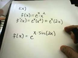 derivatives of exponential functions youtube