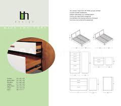 White Solid Wood Full Bedroom Set 2 229 00 Maya 5 Pc Solid Wood Platform Bedroom Set In Teak Bed