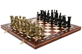 spartan u0027 u0027 decorative chess set 42x42 stunning chessboard and