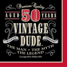 50th birthday party supplies vintage dude 50th birthday party supplies and decorations