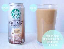 starbucks doubleshot vanilla light starbucks doubleshot recipe 1 cup strong coffee chilled cup