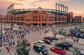 Coors Field Map Coors Field Baseball Gameday Guide