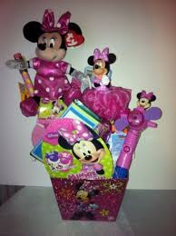 Minnie Mouse Easter Stickers Ty Custom Disney Minnie Mouse Easter Basket Arranged Filled