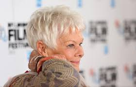 judi dench hairstyle front and back of head judi dench photos photos philomena photo call in london zimbio