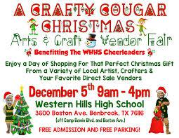 dfwcraftshows a crafty cougar christmas arts u0026 craft vendor fair
