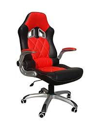 racing car seat style computer reclining desk chair u2013 daal u0027s home
