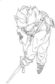 18 best coloring pages images on pinterest dragon ball z