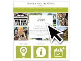 teska associates inc historic west des moines master plan